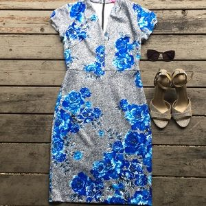 Betsey Johnson}• RARE floral midi dress
